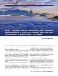 Maritime Logistics Professional Magazine, page 43,  Q2 2013