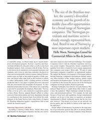 Maritime Logistics Professional Magazine, page 44,  Q2 2013