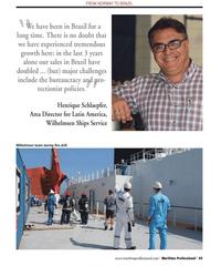 Maritime Logistics Professional Magazine, page 45,  Q2 2013