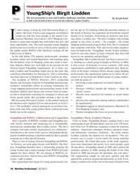 Maritime Logistics Professional Magazine, page 50,  Q2 2013