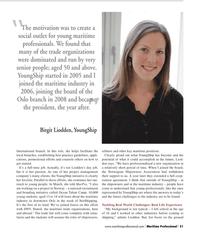 Maritime Logistics Professional Magazine, page 51,  Q2 2013