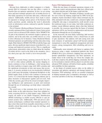 Maritime Logistics Professional Magazine, page 55,  Q2 2013