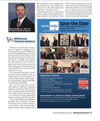 Maritime Logistics Professional Magazine, page 57,  Q2 2013