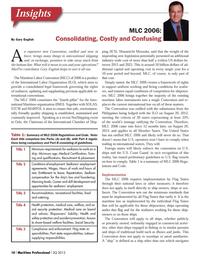 Maritime Logistics Professional Magazine, page 10,  Q3 2013 Gary EnglishInsightsAn