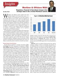 Maritime Logistics Professional Magazine, page 16,  Q3 2013 Northeastern US