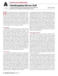 Maritime Logistics Professional Magazine, page 24,  Q3 2013 Barry Parker