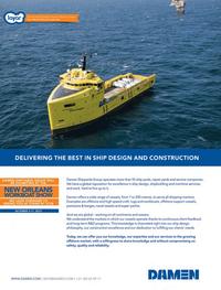 Maritime Logistics Professional Magazine, page 1,  Q3 2013