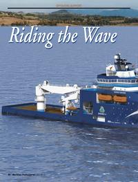 Maritime Logistics Professional Magazine, page 30,  Q3 2013