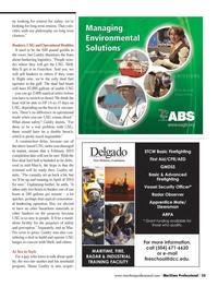 Maritime Logistics Professional Magazine, page 35,  Q3 2013