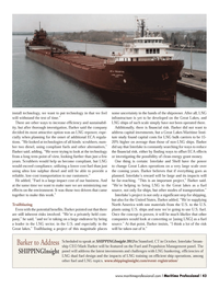 Maritime Logistics Professional Magazine, page 43,  Q3 2013 clean energy grant money