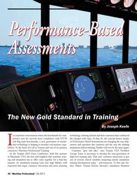Maritime Logistics Professional Magazine, page 44,  Q3 2013 George Toma