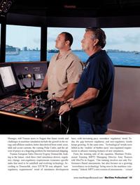 Maritime Logistics Professional Magazine, page 45,  Q3 2013 simulation