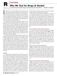 Maritime Logistics Professional Magazine, page 50,  Q3 2013 ment chemical test