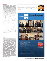 Maritime Logistics Professional Magazine, page 53,  Q3 2013