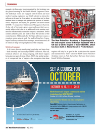 Maritime Logistics Professional Magazine, page 58,  Q3 2013