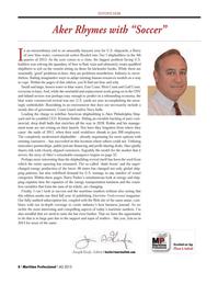 Maritime Logistics Professional Magazine, page 8,  Q4 2013