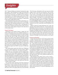Maritime Logistics Professional Magazine, page 12,  Q4 2013 North Atlantic