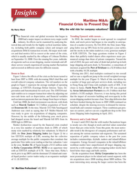 Maritime Logistics Professional Magazine, page 16,  Q4 2013 Dow 30