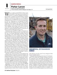 Maritime Logistics Professional Magazine, page 20,  Q4 2013 Navy
