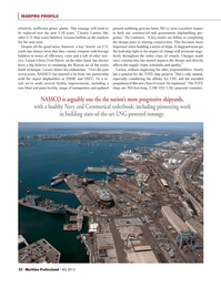 Maritime Logistics Professional Magazine, page 22,  Q4 2013 Fred Harris