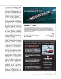Maritime Logistics Professional Magazine, page 25,  Q4 2013 consultative services
