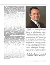 Maritime Logistics Professional Magazine, page 27,  Q4 2013