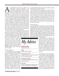 Maritime Logistics Professional Magazine, page 34,  Q4 2013 Wharton School