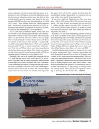 Maritime Logistics Professional Magazine, page 39,  Q4 2013 marine transportation