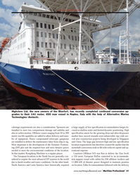 Maritime Logistics Professional Magazine, page 41,  Q4 2013 Italy