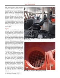 Maritime Logistics Professional Magazine, page 42,  Q4 2013 Italy