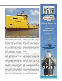 Maritime Logistics Professional Magazine, page 45,  Q4 2013 offshore carrier