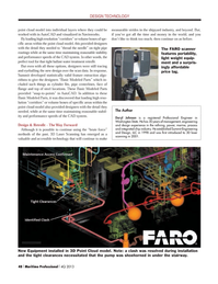 Maritime Logistics Professional Magazine, page 48,  Q4 2013 CAD system