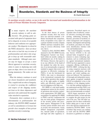 Maritime Logistics Professional Magazine, page 52,  Q4 2013