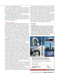 Maritime Logistics Professional Magazine, page 53,  Q4 2013 security services