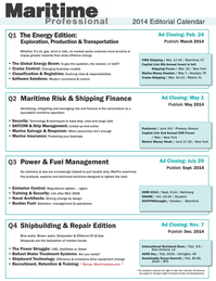 Maritime Logistics Professional Magazine, page 60,  Q4 2013