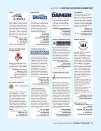 Maritime Logistics Professional Magazine, page 61,  Q4 2013 Florida