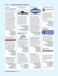 Maritime Logistics Professional Magazine, page 62,  Q4 2013 Nova Scotia