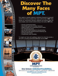 Maritime Logistics Professional Magazine, page 3rd Cover,  Q4 2013