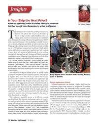 Maritime Logistics Professional Magazine, page 12,  Q1 2014 main and auxiliary systems