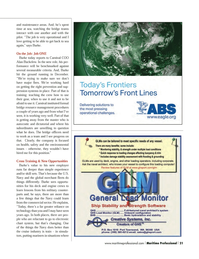Maritime Logistics Professional Magazine, page 21,  Q1 2014 pression systems