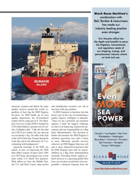 Maritime Logistics Professional Magazine, page 29,  Q1 2014 US Coast