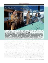 Maritime Logistics Professional Magazine, page 35,  Q1 2014 marine electronics