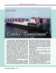 Maritime Logistics Professional Magazine, page 38,  Q1 2014 Puerto Rico