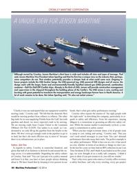 Maritime Logistics Professional Magazine, page 40,  Q1 2014