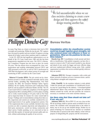 Maritime Logistics Professional Magazine, page 47,  Q1 2014 wider and denser network