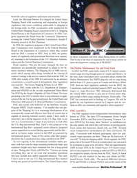 Maritime Logistics Professional Magazine, page 59,  Q1 2014 U.S. Department of Transpor