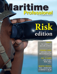 Maritime Logistics Professional Magazine Cover Q2 2014 - Maritime Risk & Shipping Finance