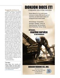 Maritime Logistics Professional Magazine, page 13,  Q2 2014