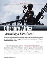 Maritime Logistics Professional Magazine, page 22,  Q2 2014