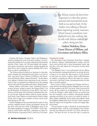 Maritime Logistics Professional Magazine, page 24,  Q2 2014